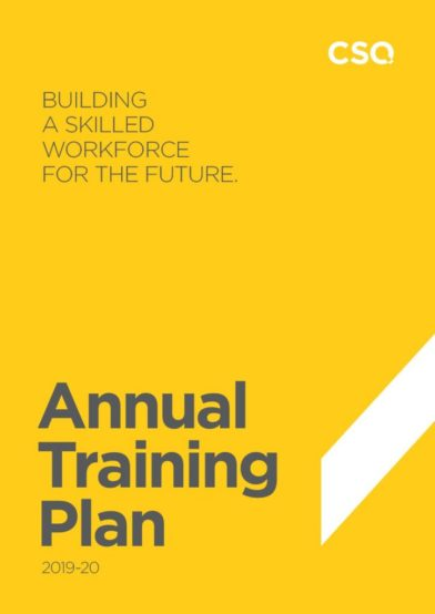 Annual Training Plan 2019-20